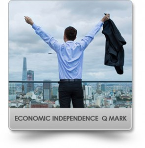 Q Mark-economic Independence